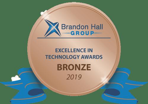 Bronze BHG Excellence in Tech Award 2019