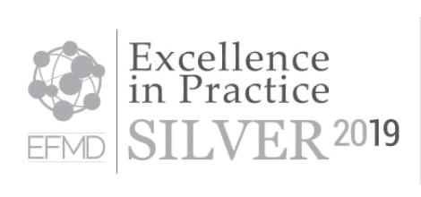 EFMD award logo silver 2019