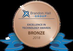 2018 Brandon Hall bronze logo