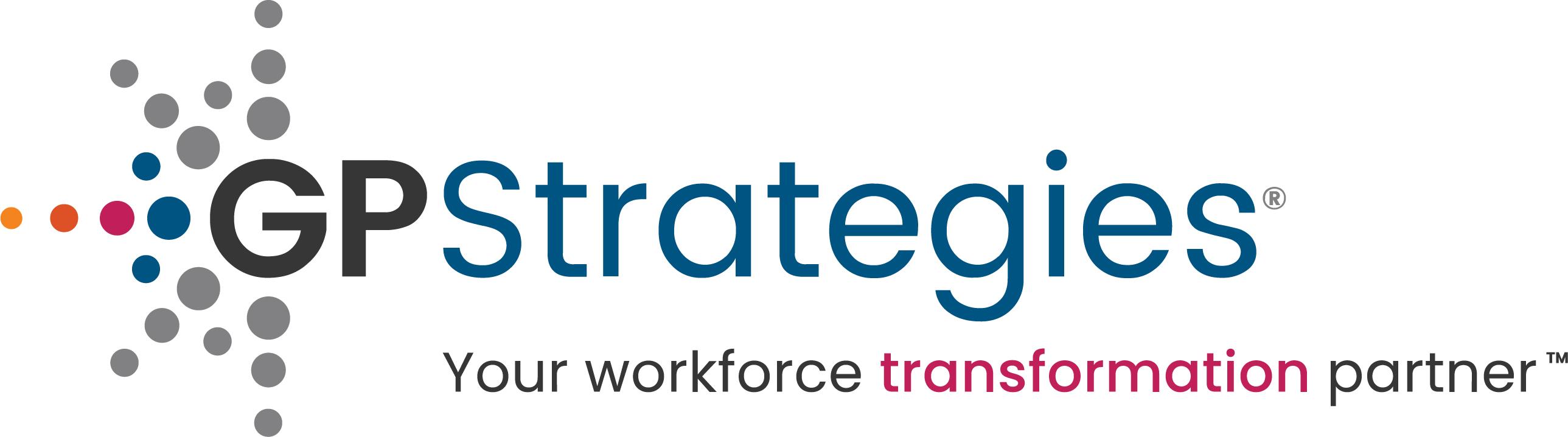 GP Strategies Logo Tagline 2020 RGB BerryTrans highRes