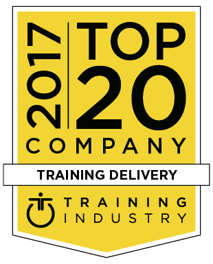 2017 Top 20 Company - Training Delivery - Training Industry