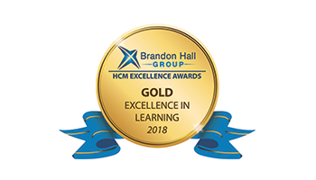 Gold Excellence in Learning Award