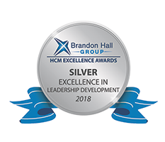 Brandon Hall Group - HCM Excellence Awards - Silver Excellence in Leadership Development 2018