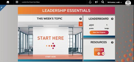 Leadership Essentials Homepage