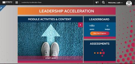 Leadership Accelerator homepage