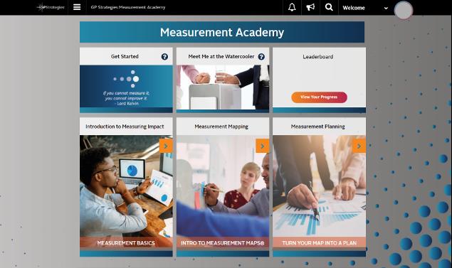Measurement Academy homepage