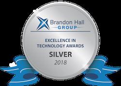 Silver Excellence in Tech logo