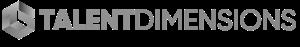 Talent Dimensions logo gray